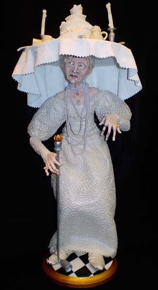 character doll, Miss Havisham