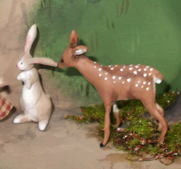 The Secret Garden Bunny and Fawn
